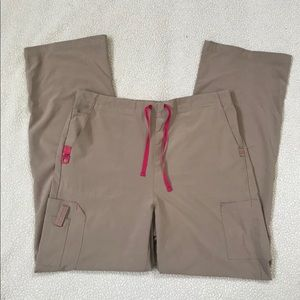 Carhartt Pants - Tan Carhartt Force Crossflex Scrubs Size Large T